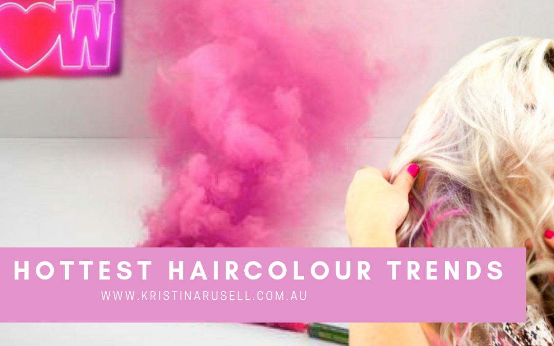 5 Top Hair Colour Trends for 2019