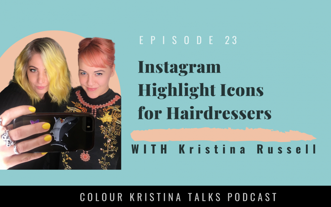 Instagram Icons for Hairdressers