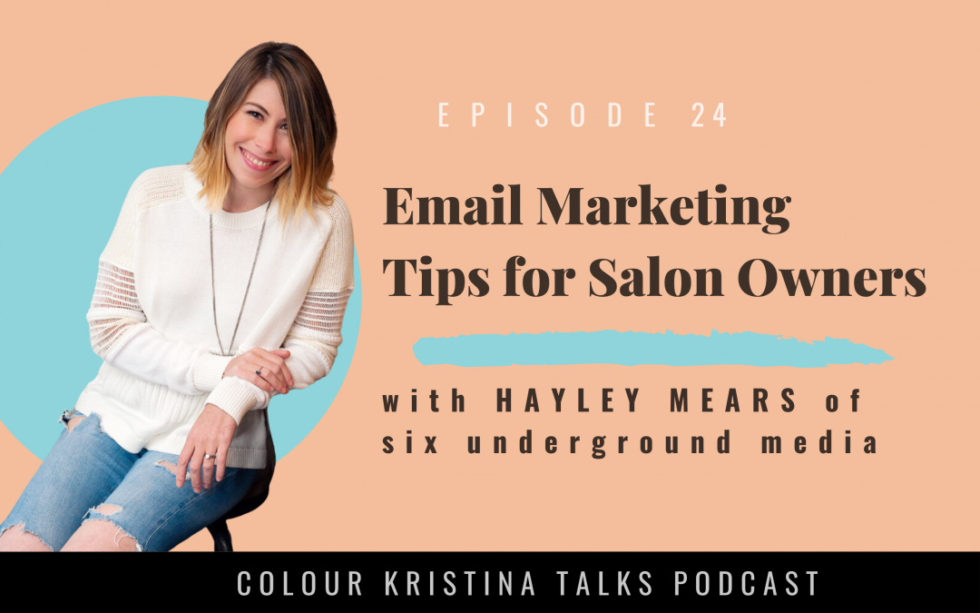 Email Marketing Tips, with content creator Hayley Mears