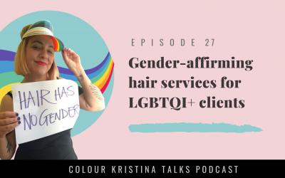 Gender-affirming services for LGBTQI+ clients