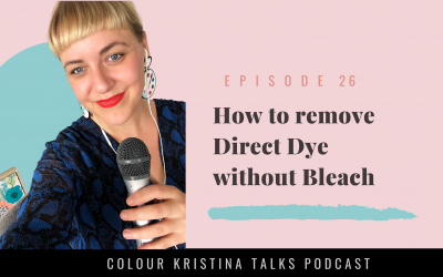 How to remove direct dye without bleach