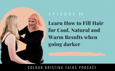 Learn How to Fill Hair for Cool, Natural and Warm Results when going darker